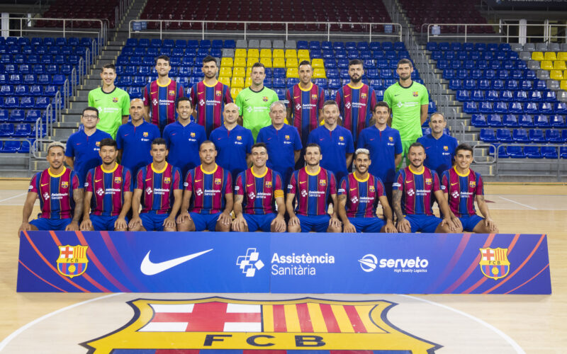 La Bustia plantilla Barça futbol sala