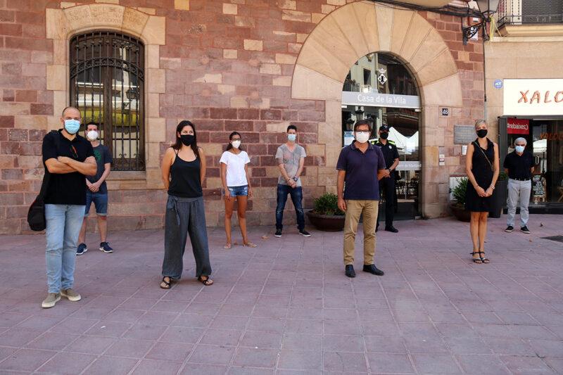 La Bustia presentacio servei agents atencio persones Martorell