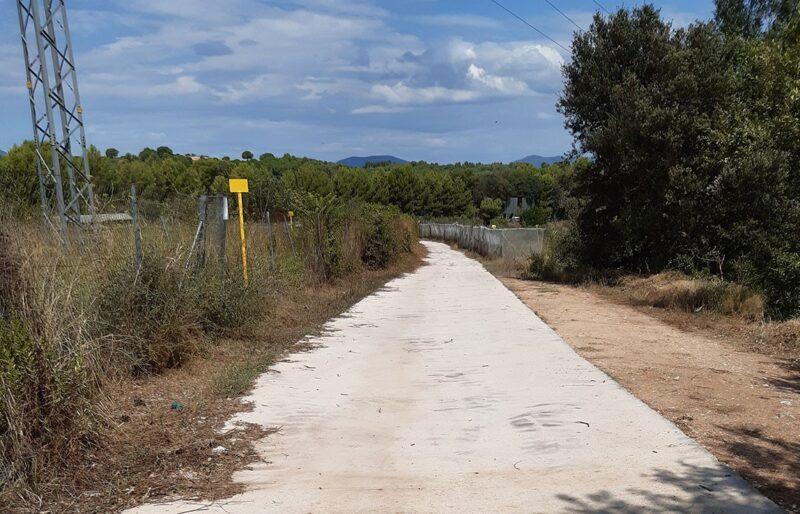 La Bustia Castellvi millora camins forestals