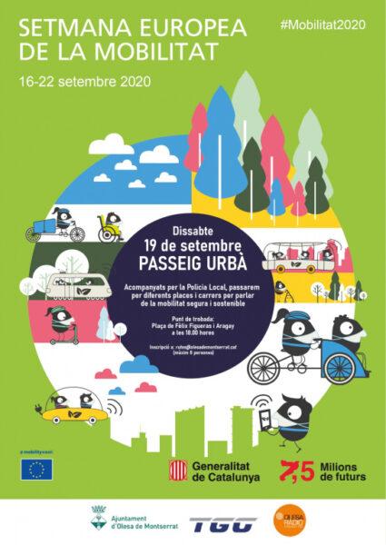 La Bustia Olesa Setmana Europea de la Mobilitat