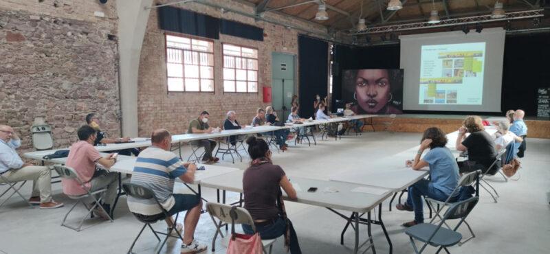 La Bustia assemblea Parc Rural del Montserrat