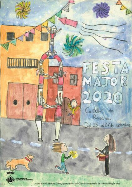 La Bustia cartell Avril Festa Major Castellvi