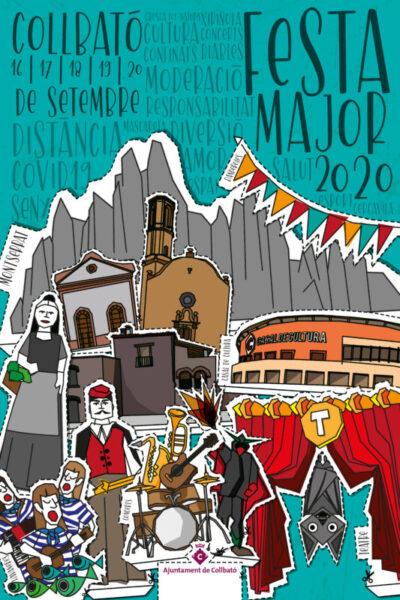 La Bustia cartell Festa Major Collbato 2020