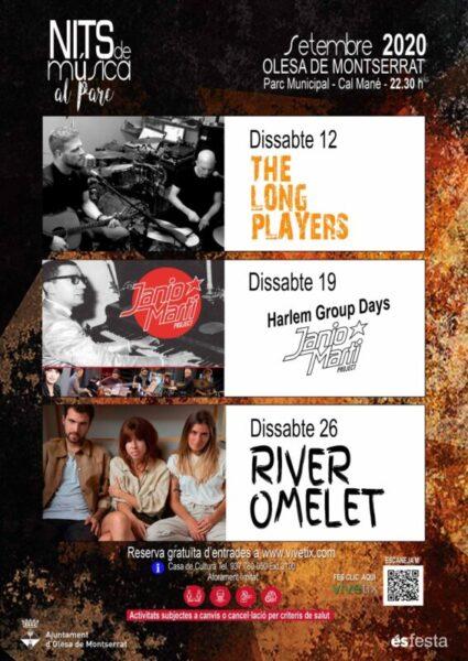 La Bustia cartell Nits de musica Olesa