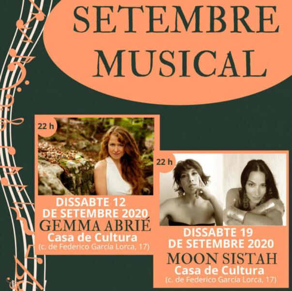 La Bustia cartell Setembre Musical Abrera