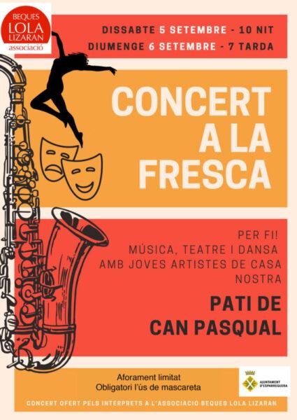 La Bustia concert a la fresca Esparreguera