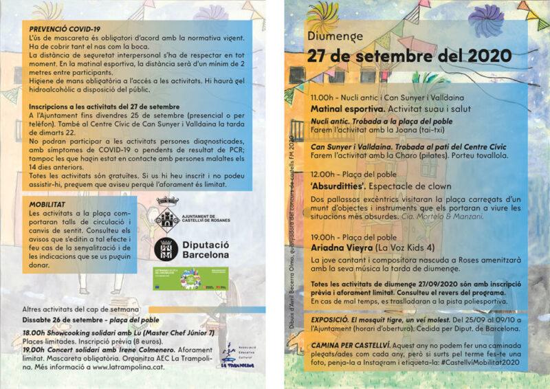 La Bustia programa activitats Sant Miquel Castellvi