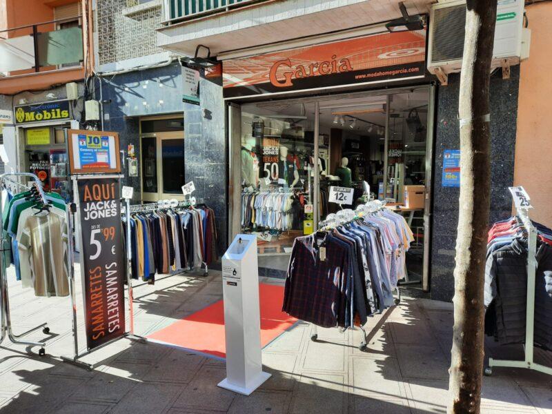 La Bustia Moda Home Garcia promocio al carrer Sant Andreu