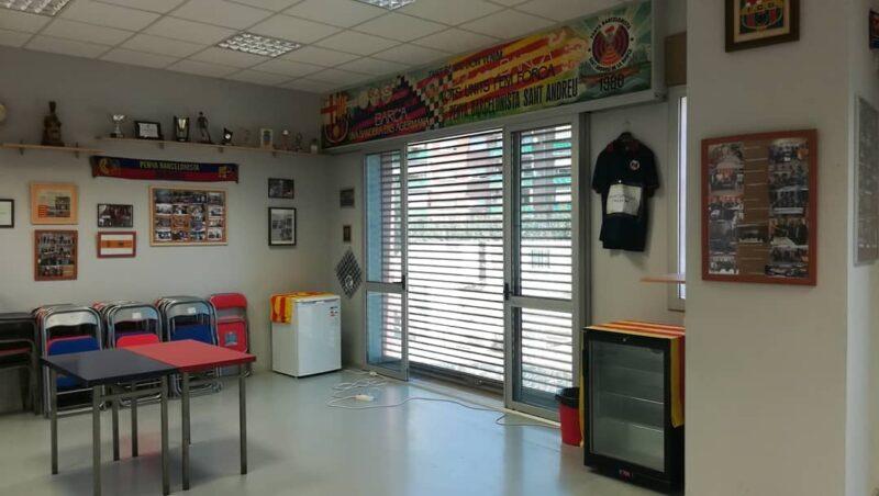 La Bustia Penya Barcelonista Sant Andreu vacunacio grip (2)
