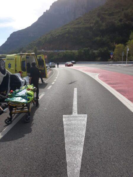 La Bustia accident aeri de Montserrat (1)
