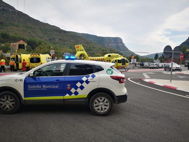La Bustia accident aeri de Montserrat (3)