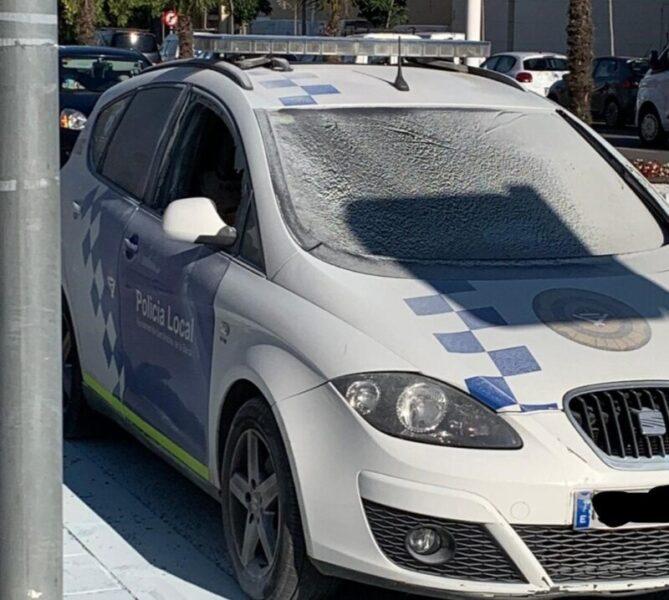 La Bustia atemptat policia local Sant Andreu (1)
