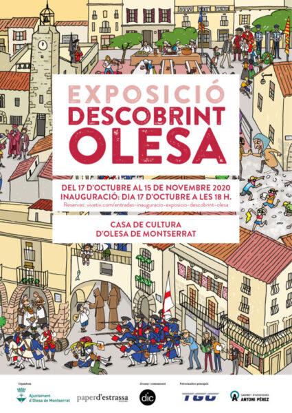 La Bustia cartell exposicio descobrint Olesa