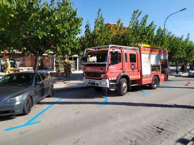La Bustia fuita de gas Sant Andreu