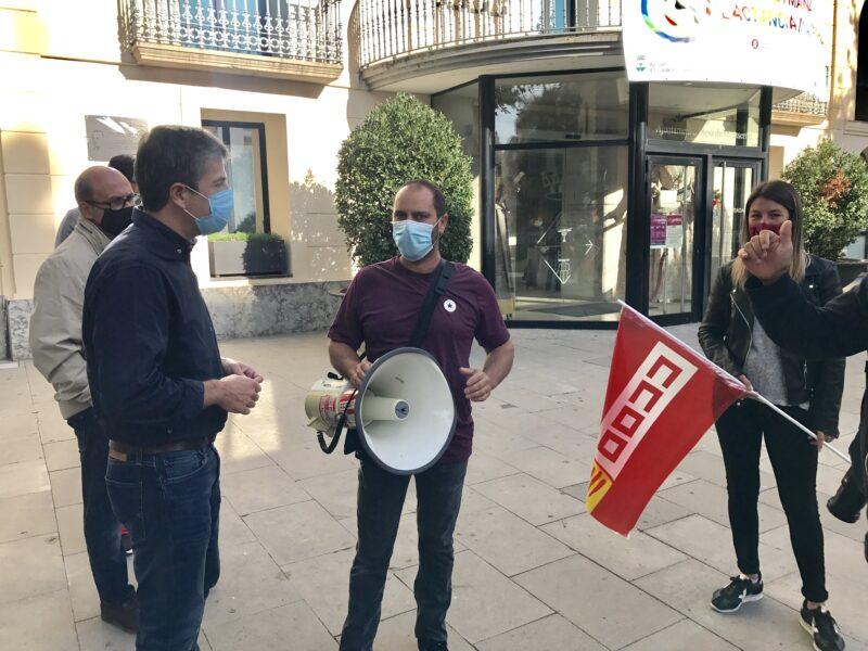 La Bustia manifestacio treballadors Arytza Bakeries (1)