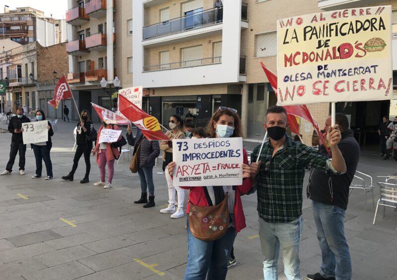 La Bustia manifestacio treballadors Arytza Bakeries (2)