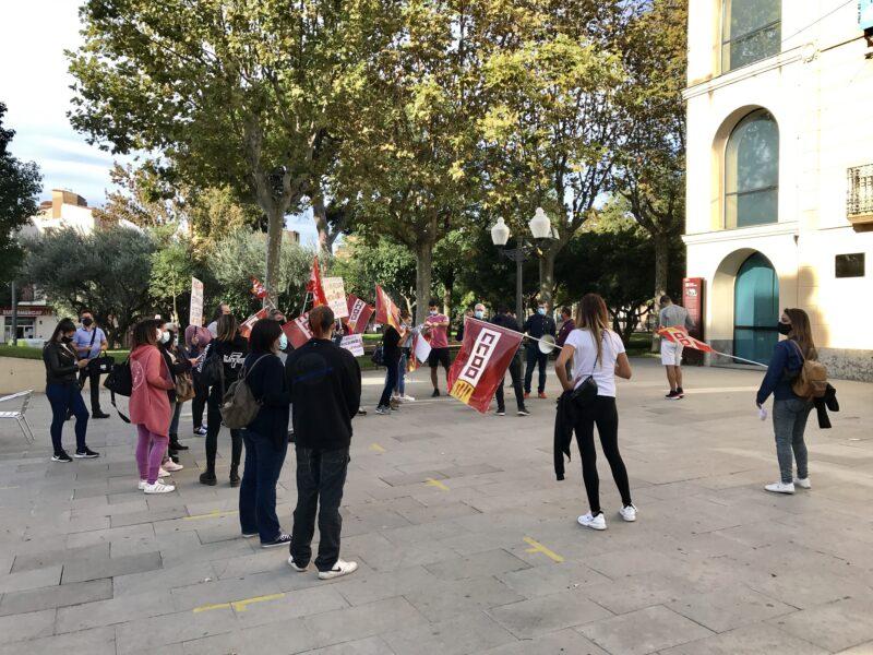 La Bustia manifestacio treballadors Arytza Bakeries (3)