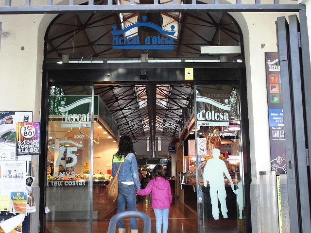 La Bustia mercat municipal Olesa