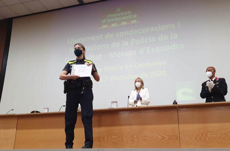 La Bustia reconeixement policia local sant andreu