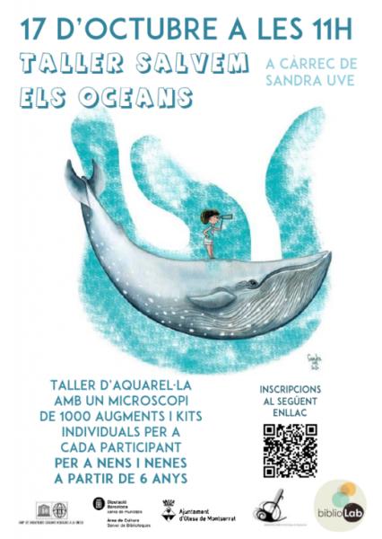 La Bustia taller salvem els oceans Olesa