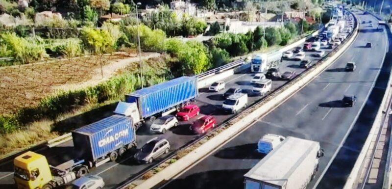 La Bustia 2 accidents A2 Martorell 11-11-2020
