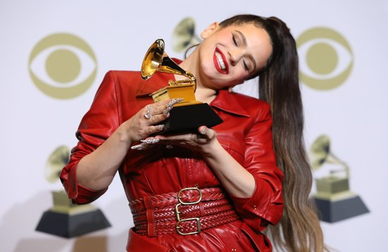 La Bustia Rosalia Grammys Llatins