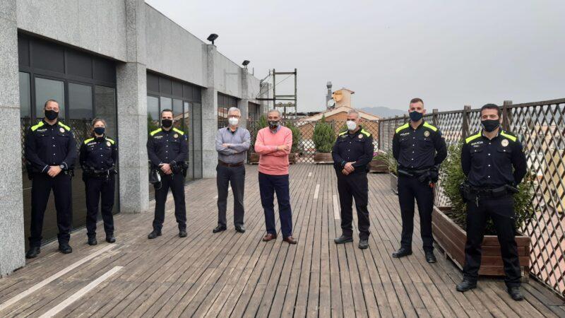 La Bustia agents Policia Local Sant Andreu