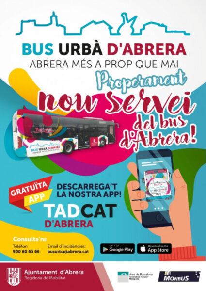 La Bustia nou bus urba Abrera (1)