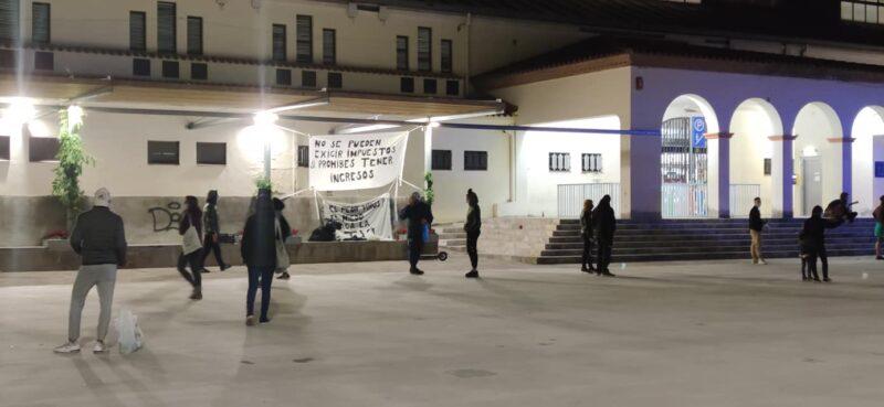 La Bustia nova manifestacio Olesa (1)