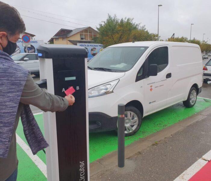 La Bustia vehicles electrics Masquefa
