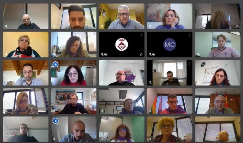 La Bustia Ple extraordinari Sant Andreu