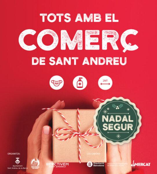 La Bustia campanya Comerç Nadal Sant Andreu (1)