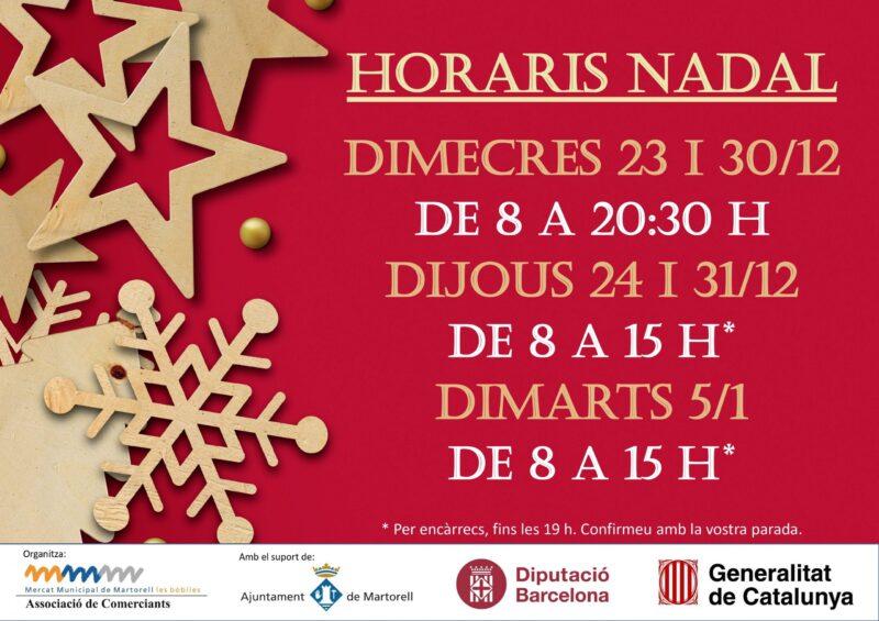 La Bustia campanya Nadal Mercat Les Bobiles Martorell (1)