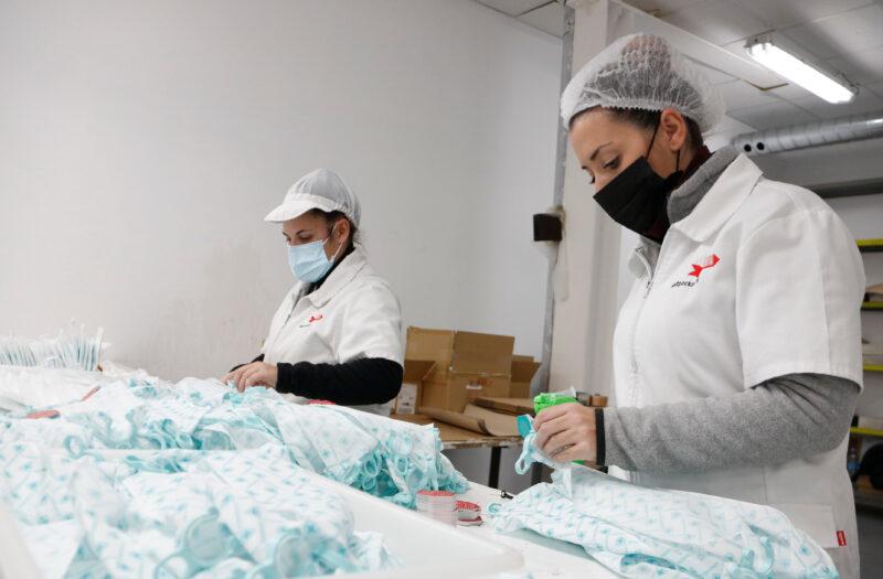 La Bustia fabricacio Handshield Mediterranean