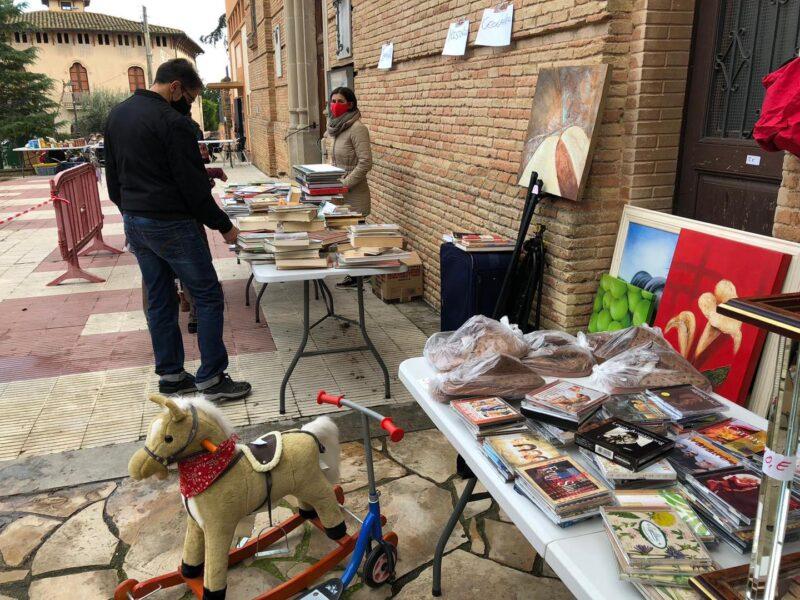 La Bustia mercat solidari Sant Esteve