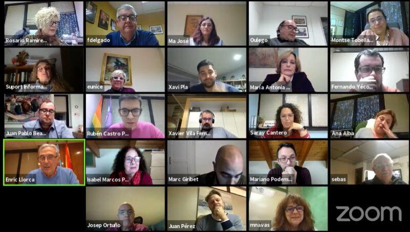 La Bustia ple pressupost Sant Andreu