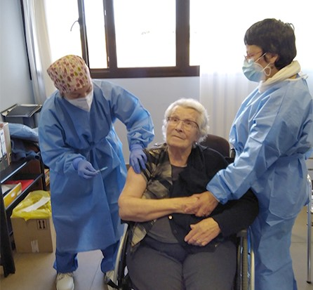 La Bustia vacunacio Can Serra