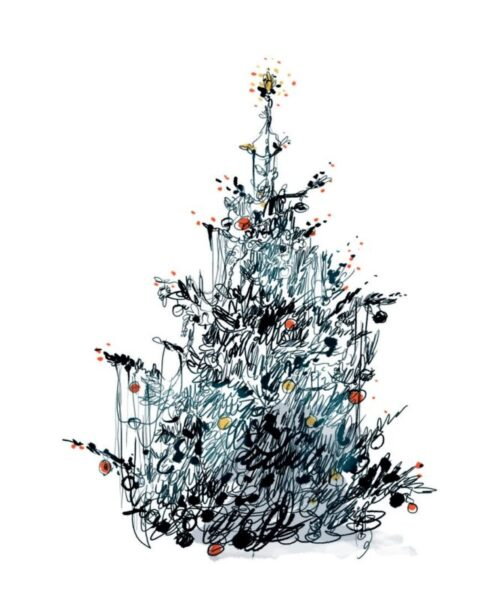 La Bustia Oriol Malet un arbre de nadal i una boda (2)