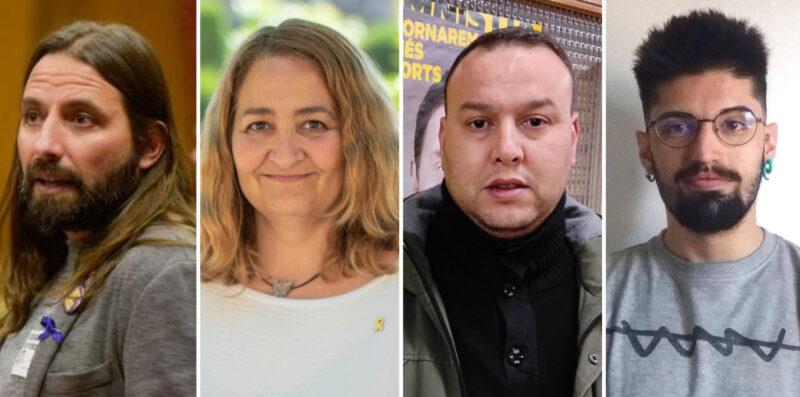 La Bustia candidats ERC Baix Llobregat Anoia Alt Penedes