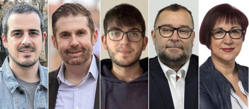 La Bustia candidats PSC Baix Llobregat Anoia Alt Penedes