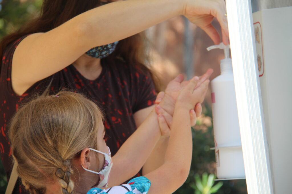 La Bustia covid escoles primera setmana