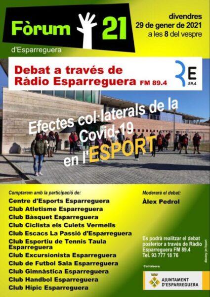 La Bustia debat esport Esparreguera