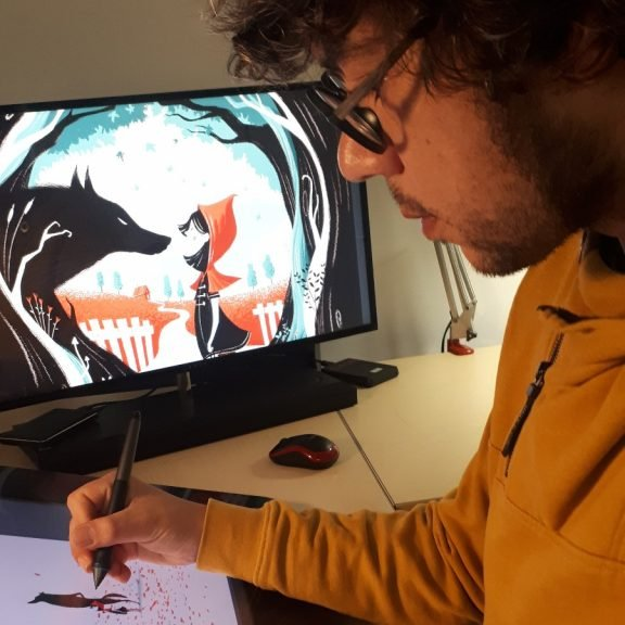 La Bustia dibuix Robert Garcia premi vila Martorell