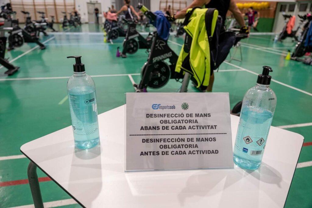 La Bustia gimnasos Sant Andreu