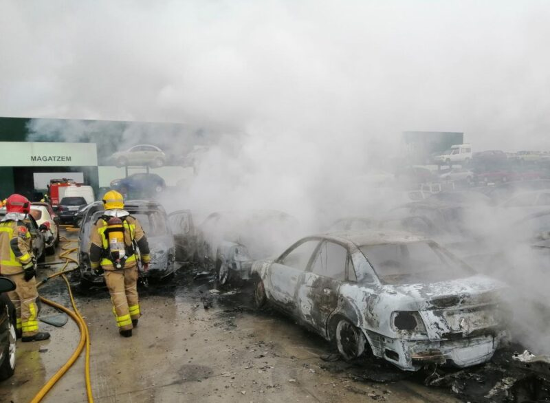 La Bustia incendi Masquefa