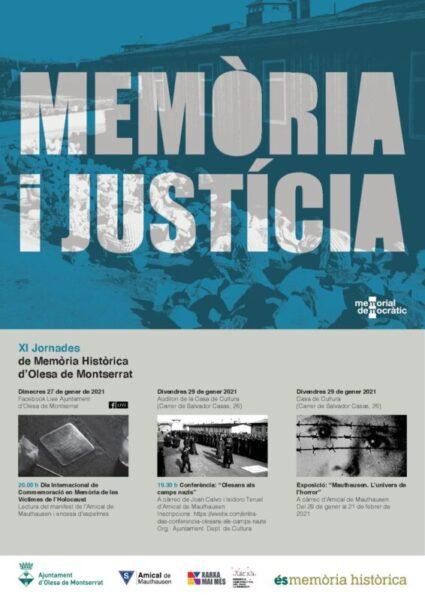 La Bustia jornades memoria historica Olesa
