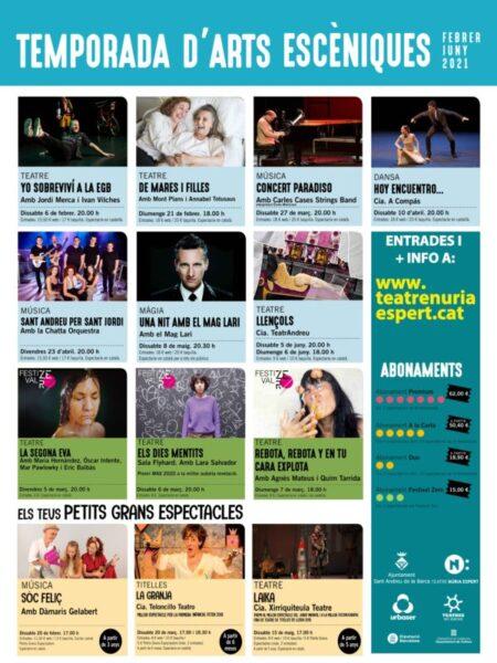 La Bustia programacio Teatre Nuria Espert Sant Andreu