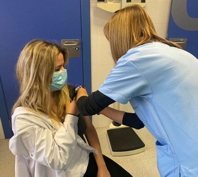 La Bustia vacunacio CAP Olesa