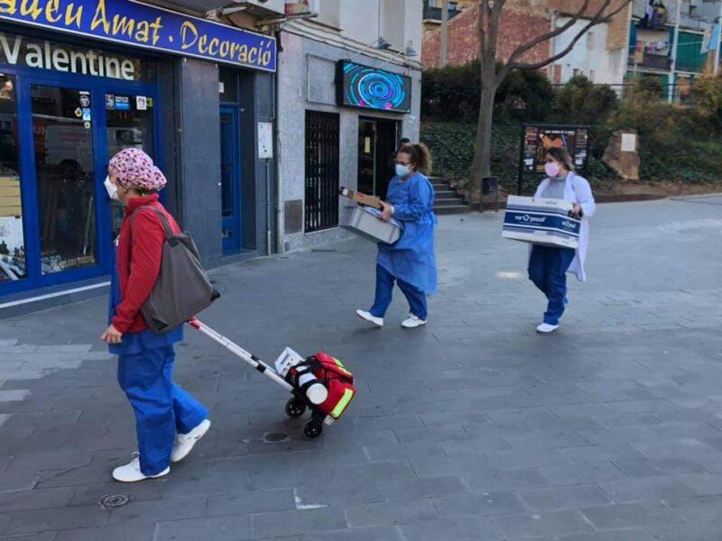 La Bustia vacunacio Sant Andreu