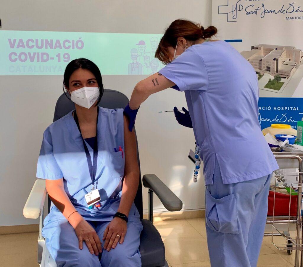 La Bustia vacunacio hospital Martorell